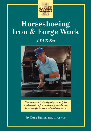 Specialized Video Series (4 Tapes): Horseshoeing Iron and Forge Work