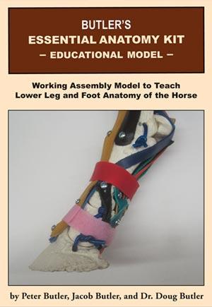 Essential Anatomy Kit Farrier Horseshoeing Butler Professional